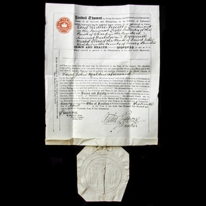 London Medal Company - A Church of England Marriage Certifi...