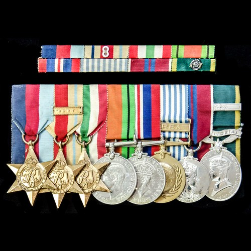 London Medal Company - ​A fine Second World War 8th Army Nor...