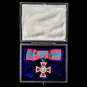 London Medal Company - A Royal Red Cross 2nd Class, Associa...