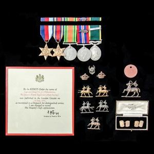 London Medal Company - A Second World War Burma Battle of K...