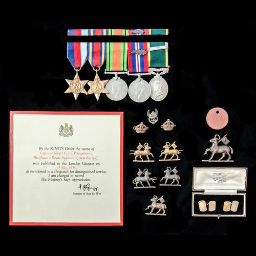 London Medal Company - ​A Second World War Burma Battle of K...
