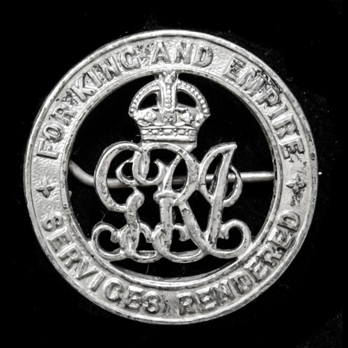 London Medal Company - ​A Silver War Badge, reverse numbered...
