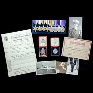 London Medal Company - ​The very fine Second World War Combi...