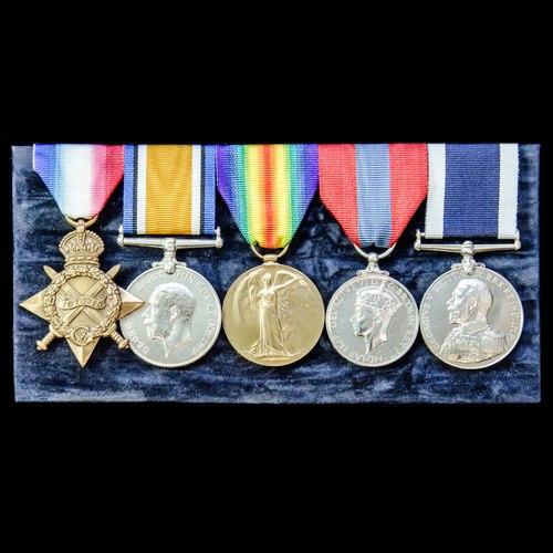London Medal Company - A fine Great War Battle of Heligolan...