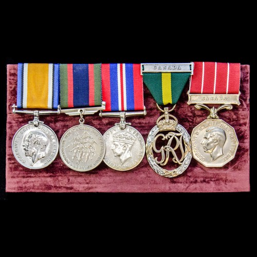 London Medal Company - ​A fine Great War and Second World Wa...