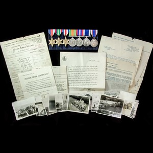 London Medal Company - ​The rare Second World War Royal Navy...