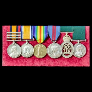 London Medal Company - ​The very fine South Africa Boer War,...
