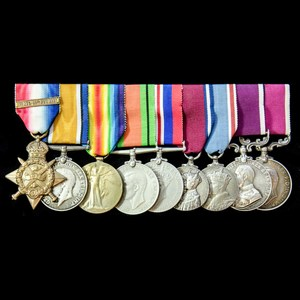 London Medal Company - The very fine Great War 1914 Old Cont...