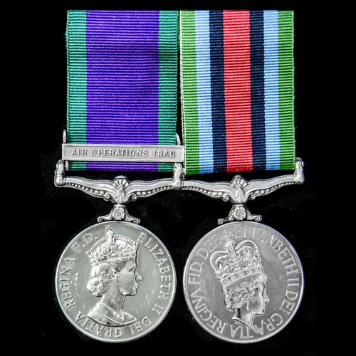 London Medal Company - ​A fine Air Operations Iraq and Sierr...