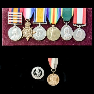 London Medal Company - A very fine and rare combination 1912...