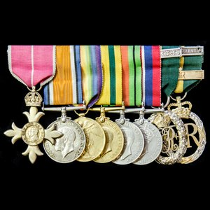 London Medal Company - A very fine Second World War Officer...