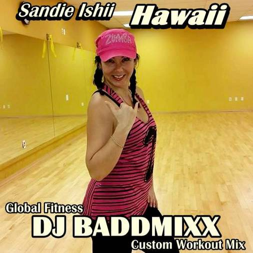 DJ Baddmixx - Sandie Sweats 8. DJ Baddmixx