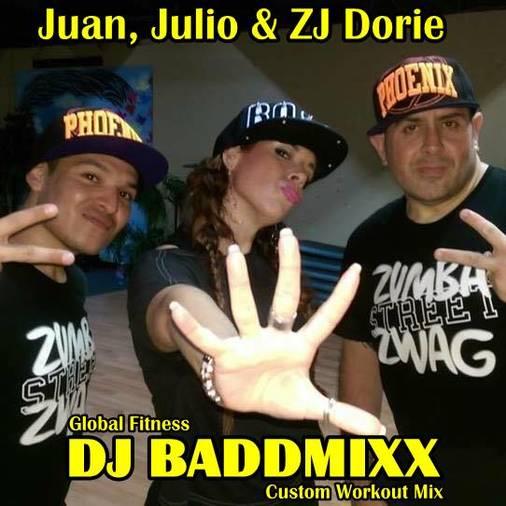 DJ Baddmixx - Juan, Julio & Z. DJ Baddmixx