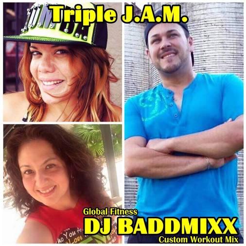 Triple J.A.M. 8Min WarmUp 133. DJ Baddmixx