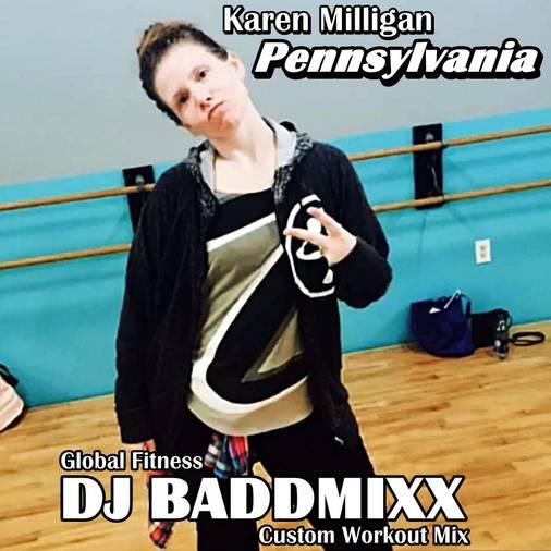 Karen Levels An 8Min WarmUp 1. DJ Baddmixx
