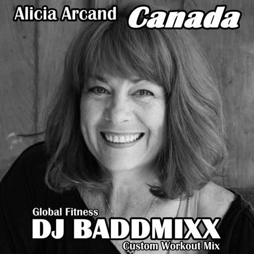 Alicia Jumps On A 9Min WarmUp. DJ Baddmixx