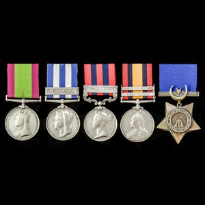 London Medal Company - The very fine Second Afghanistan War ...