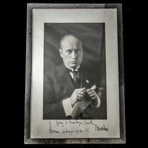 London Medal Company - Italy - Fascist period: A rare framed...
