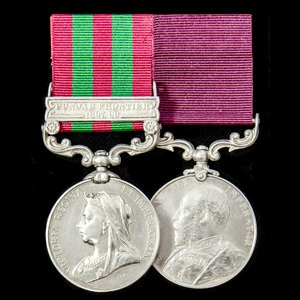 London Medal Company - An India Punjab Frontier long service...