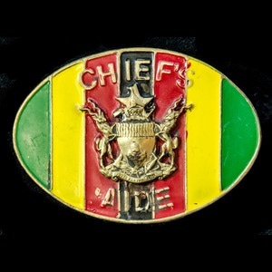 London Medal Company - Zimbabwe Chief's Aide Badge 1980 to p...