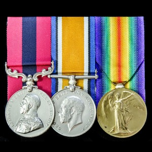 London Medal Company - The very fine Great War Battle of the...