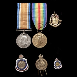 London Medal Company - A fine and most complete Great War We...