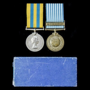 London Medal Company - A Korean War pair awarded to Private ...