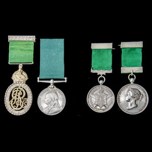 London Medal Company - The very fine Indian Volunteer Forces...