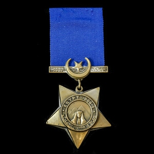London Medal Company - Khedive's Star dated 1884-6.