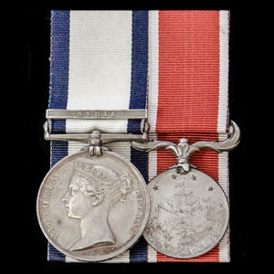 London Medal Company - The fine Syria 1840 operations pair a...