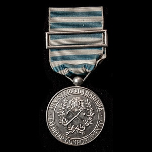 London Medal Company - Portugal: Navy Exemplary Service Medal.