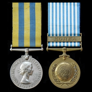 London Medal Company - A Korean War Medal pair awarded to Pr...