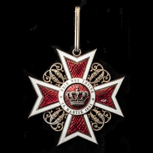 London Medal Company - Romania - Kingdom of: Order of the Cr...