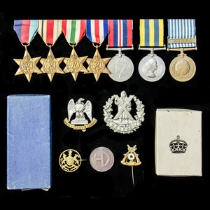 London Medal Company - A fine Second World War North Africa,...