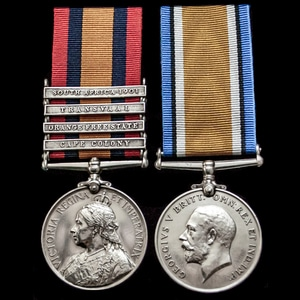 London Medal Company - A South Africa Boer War and Great War...