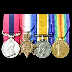 London Medal Company - The exceptional Great War Battle of t...