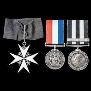 London Medal Company - A fine and scarce combination Command...