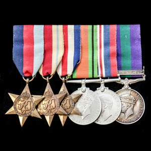 London Medal Company - A fine Second World War and Palestine...