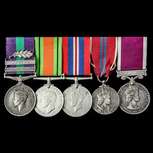 London Medal Company - The regimentally very fine Palestine ...
