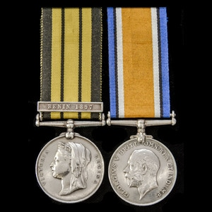 London Medal Company - A West Africa Benin Expedition 1897 a...