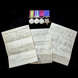 London Medal Company - A fine Second Afghanistan War and Egy...
