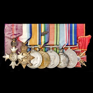 London Medal Company - The fascinating Great War Archangel N...