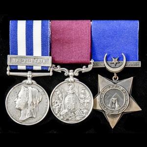 London Medal Company - An Egyptian War 1882 long service gro...