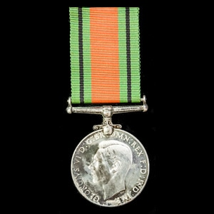 London Medal Company - Defence Medal 1939-1945, silver Canad...