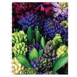 English Accent Hyacinth Notebook