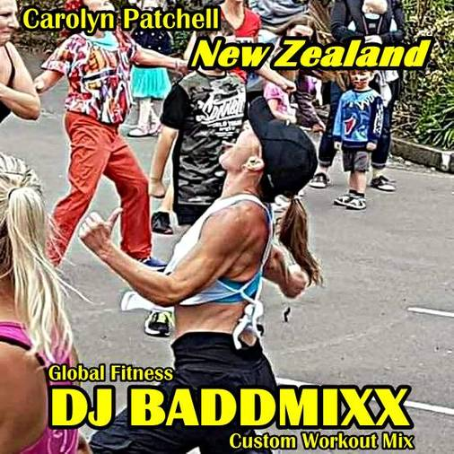 Carolyn Turns Up A 7Min WarmU. DJ Baddmixx