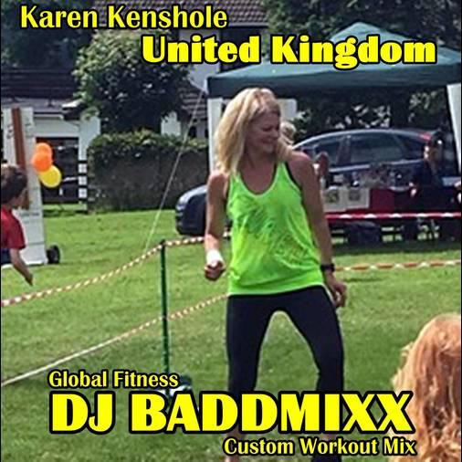 Karen's 10Min WarmUp 133-148B. DJ Baddmixx
