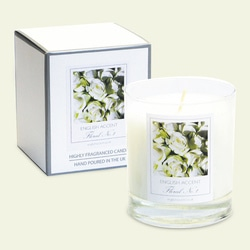 English Accent Clean Cotton Scented Candles .