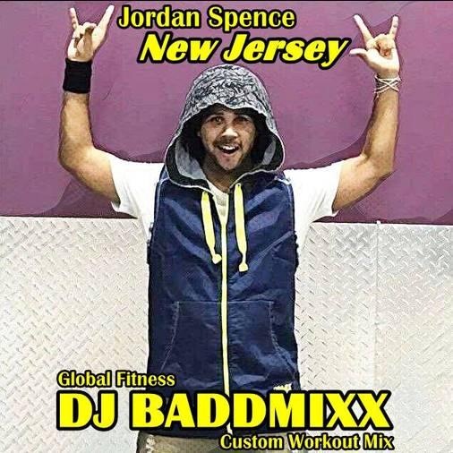 Jordan's 10Min WarmUp 130-144. DJ Baddmixx