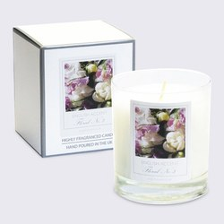 English Accent Sweet Pea Scented Candle